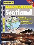 Philip's Navigator Scotland: (A4 Spiral binding)