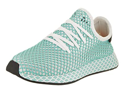huge selection of 95695 374e8 adidas Women Deerupt Runner Parley W White Footwear White Blue Spirit Size  5.0 US