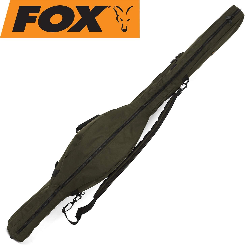 Angelruten Ruten-Futteral mit Schirm Tragegriffe und Schulter-Gurt und Kescher-Fach Zite Fishing Rutentasche 150cm