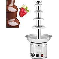 ALDKitchen 80 cm 5 Tiers 31.5 Inch Chocolate Fountain Machine, Fondue
