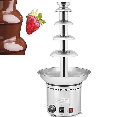Máquina de fuente de chocolate comercial Vevor