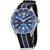 8c3fd7d57f8 Amazon.com  Tag Heuer Formula 1 Blue Chronograph Mens Watch CAZ1014 ...