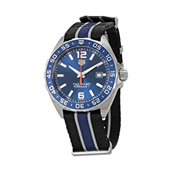 Amazon.com  Tag Heuer Formula 1 Quartz Men s Watch WAZ1010.FC8197 ... 6c7d66749a