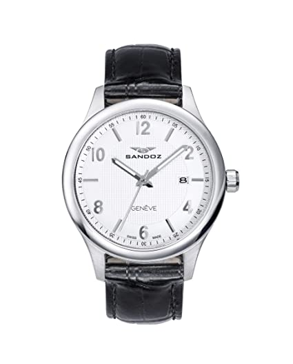 Reloj Suizo Sandoz Caballero 81365-83 Elegant Collection: Amazon.es: Relojes