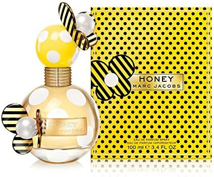 Marc Jacobs Honey Eau de Parfum Spray for Women, 3.4 Fluid Ounce