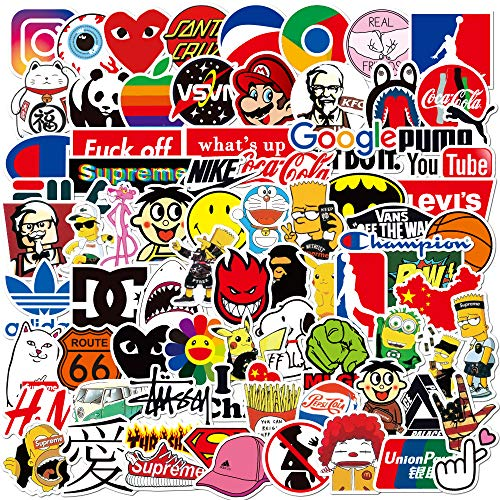 🥇 Cool Stickers Pack 100pcs