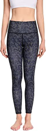 Yoga Pants with Inner Pockets for Women Leggings for Women No See-Through High Waisted Workout Leggings