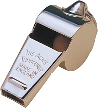 New Acme Football Sports Referee Accessories Thunderer Metal Whistle 60.5