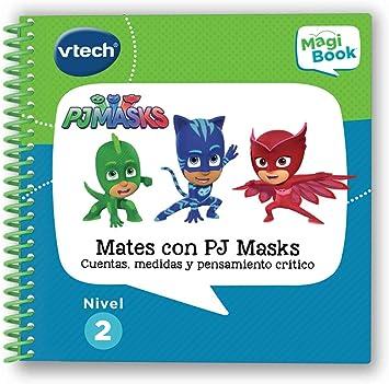 VTech MagiBook PJ Masks, Libro Interactivo Educativo Que refuerza ...