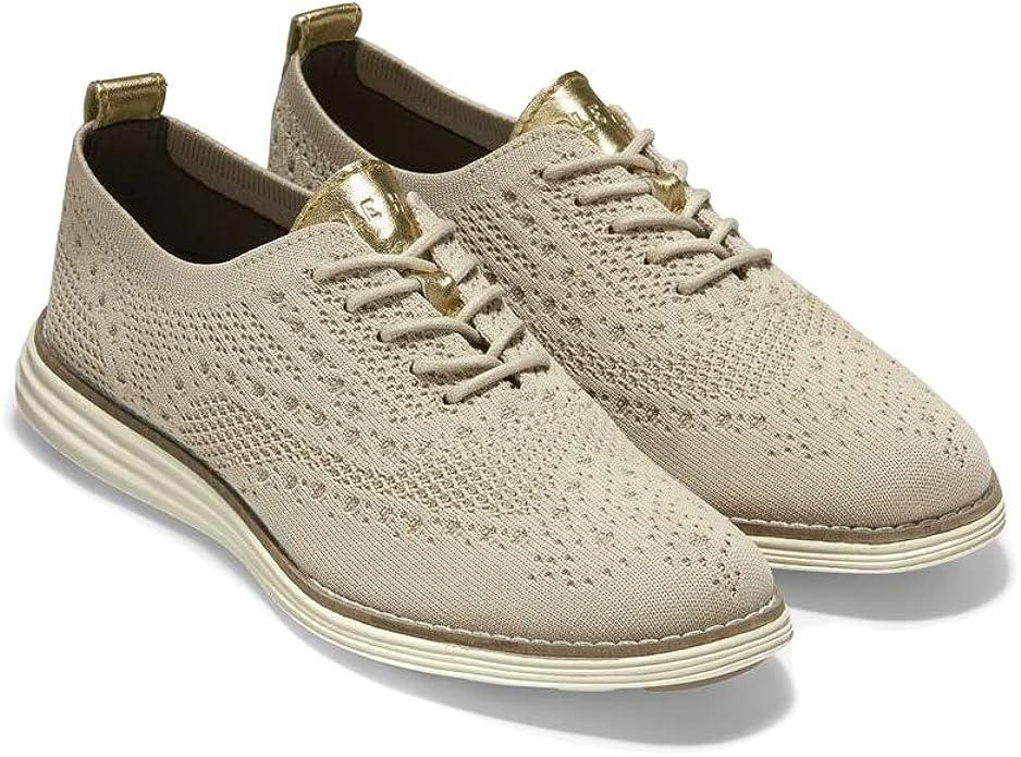 Cole Haan 可汗 Original grand 布洛克风格 男式针织牛津鞋 2.9折$42.87 海淘转运到手约¥382