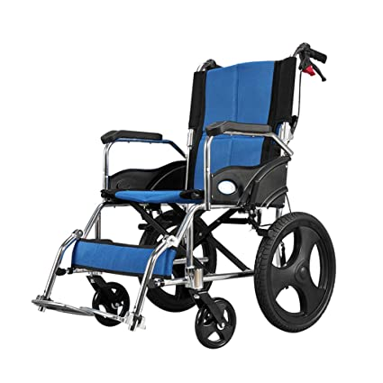 Amazon.com : Aluminum Alloy Transport Chair Lightweight ...