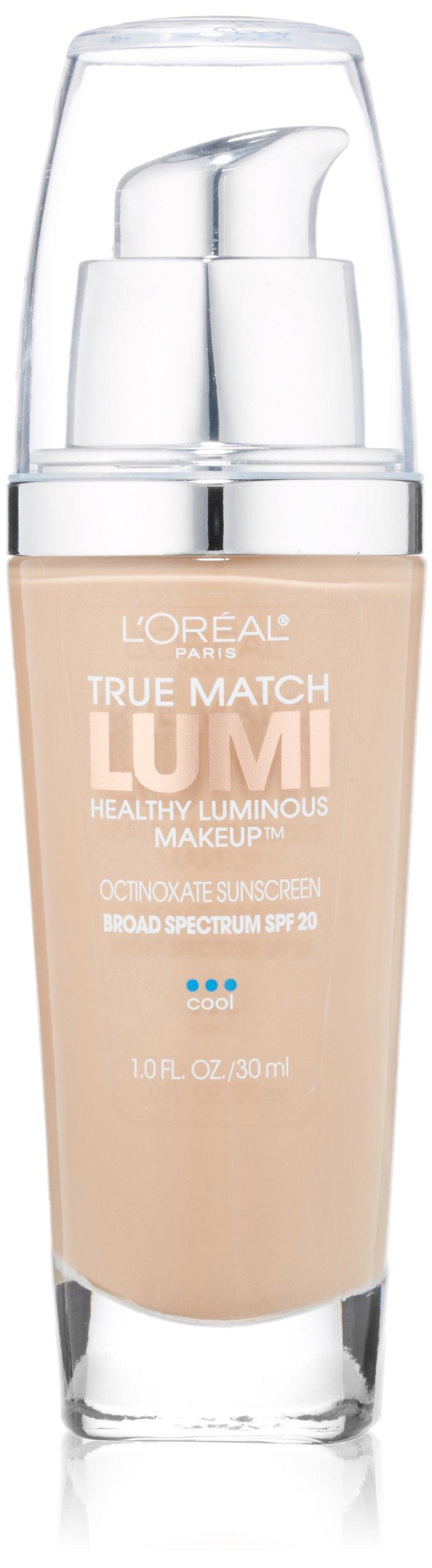 L'Oréal Paris True Match Lumi Healthy Luminous Makeup, C3 Creamy Natural, 1 fl. oz.