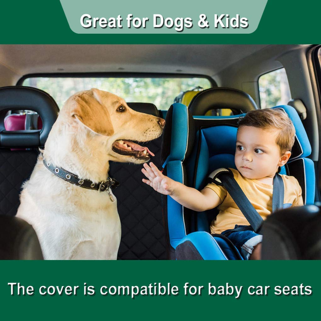 10-ON PREMIUM Quilted Pet Hammock Seat Cover For CITROEN DS3