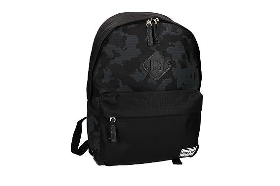 PRO-DG Mochila chico bolsa de ocio escolar negro VZ793: Amazon.es: Ropa y accesorios