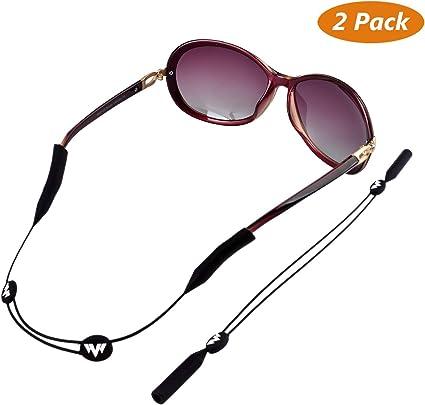 2 x femmes filles perles cordon chaîne pour lunettes de soleil lunettes