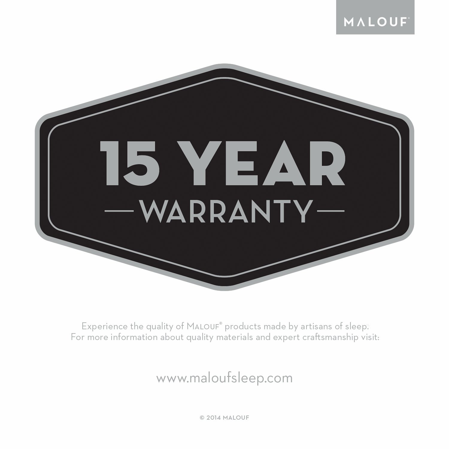 Sleep Tite Hypoallergenic 100% Waterproof Pillow Protector- 15-Year Warranty - Set of 2 - Standard by MALOUF (Image #7)