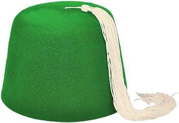 village hat shop orange fez with white tassel fez new style 99144 ... 9b7db786f8b