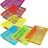 Zilpoo 6 Pack – Paper Organizer Basket, Classroom