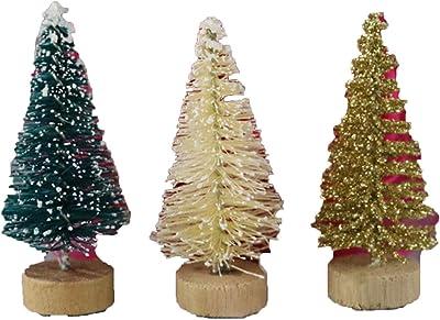 Amazon Com Zoilmxmen Small Christmas Desk Tree Artificial Mini