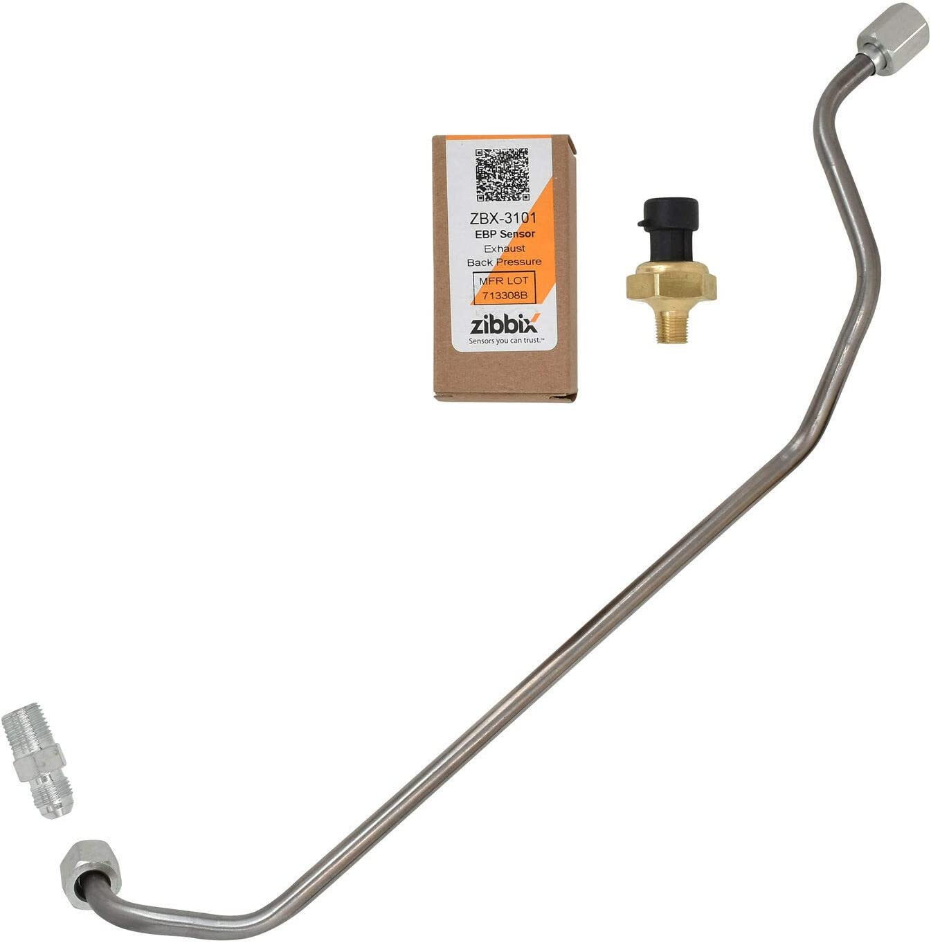Powerstroke Diesel Exhaust Back Pressure EBP Tube Sensor /& Wire For Ford 7.3L