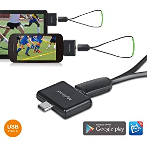 MyGica tv Tuner for Watching ATSC Digital TV Anywhere You go with Android Mobile or Pad (PT682C) (Color: PT682C)