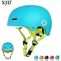 XJD Casco Bicicleta para Niños Ajustable con Certificación