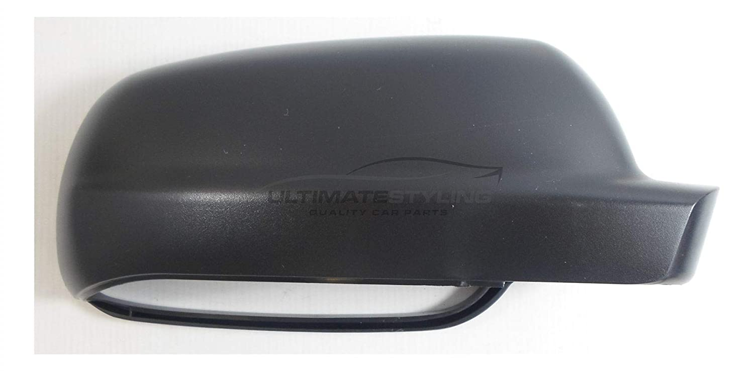 Ultimate Styling Aftermarket Replacement Wing Mirror Cover Cap Colour Of Cover Black - Textured For Drivers Side (RH) Right Hand Side