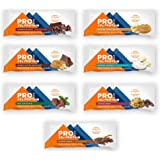 PROBAR - Base Protein Bar, Variety Pack (One of Each Flavor), Non-GMO, Gluten-Free, Certified Organic, Healthy, Plant-Based Whole Food Ingredients, Natural Energy (7 Count)