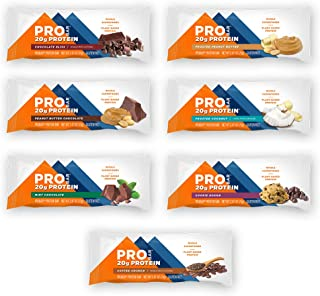 product image for PROBAR - Base Protein Bar, Variety Pack (One of Each Flavor), Non-GMO, Gluten-Free, Healthy, Plant-Based Whole Food Ingredients, Natural Energy (7 Count)