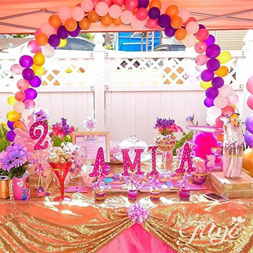 TRLYC 108 108 Inch Tablecloth Wedding