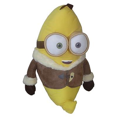 "Minion BOB ""BANANE"" Banana PELUCHE XXXL GÉANT 60cm MINIONS Film 2015 Officiel"