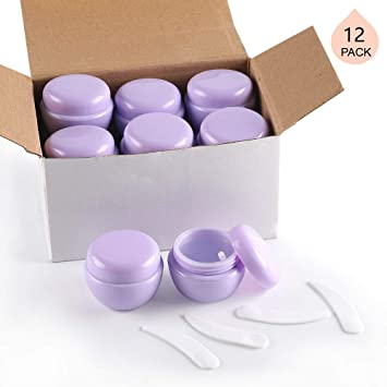 0bfb7ac76770 LONGWAY 1 Oz (30ML) Mini Plastic Jars with Lids and Inner Liners | Empty  Lotion...