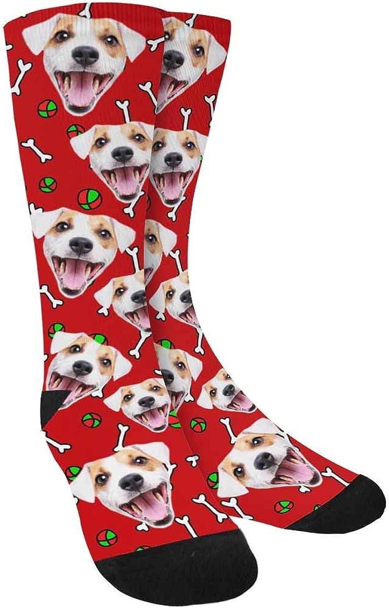 Picture Socks Custom Socks Personalized Photo Socks Custom Face Photo Valentines Socks Personalized Socks Emoji socks  --62309-LSX4-603