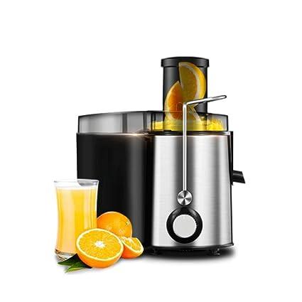 WYQzz Exprimidor casero del acero inoxidable Máquina del jugo de fruta del diámetro grande Capacidad multifuncional