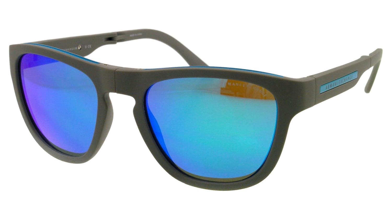 05333dc8ae7c ARMANI EXCHANGE Gafas de sol AX 4012 801533 Gris Azul 51MM  Amazon.es  Ropa  y accesorios