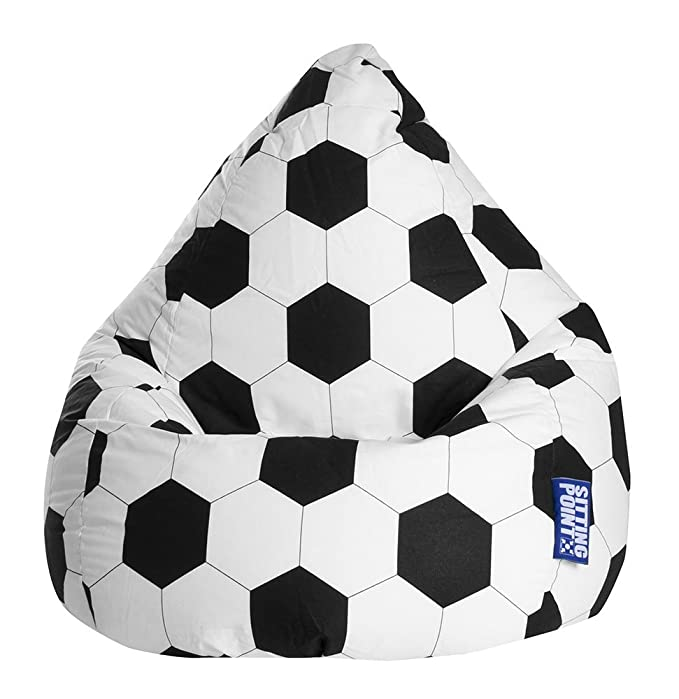 Sitting Point 28500 001 - Puf (tamaño Grande), diseño de balón de ...