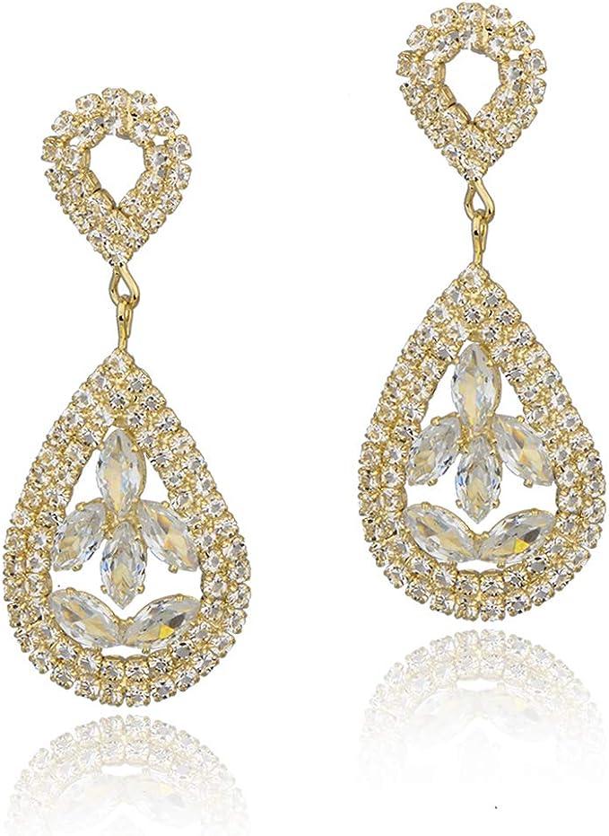 dangle earrings jewelry glass earrings silver bridal earrings bridal earrings wedding Vintage Long dark blue earrings wedding earrings