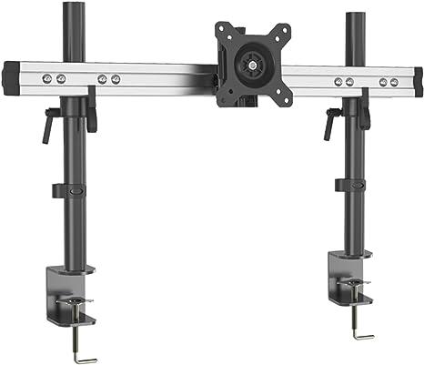 Hftek Monitorarm Halterung Halter Tischhalterung Für Bildschirme Von 15 Bis 49 Zoll Mit Tischklemme Vesa 75 100 Mp210c Küche Haushalt