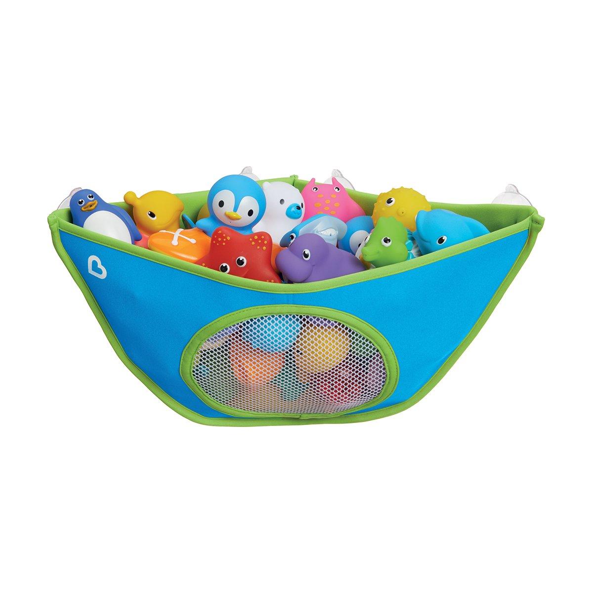 Munchkin High'n Dry Badespielzeug-Organizer, blau Munchkin Asia Limited 051699