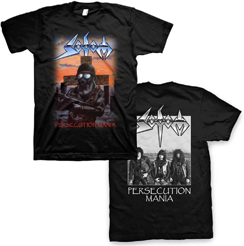 NEW /& OFFICIAL Sodom /'Persecution Mania/' Long Sleeve Shirt