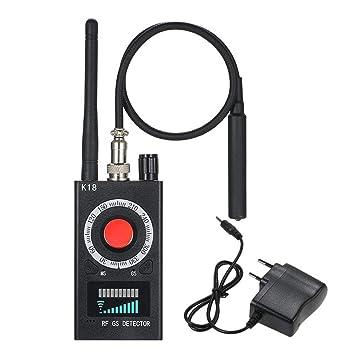 Detector de señales de RF inalámbrico anti-espía Detector de cámara Detector de RF anti-espía Detector de errores inalámbrico para cámara oculta Dispositivo ...