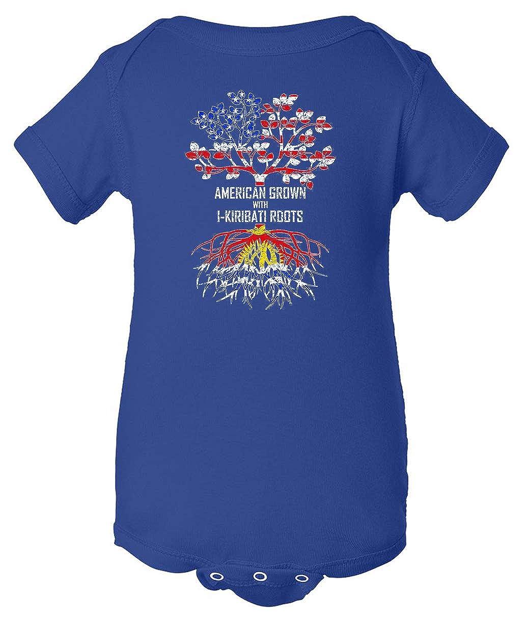 Tenacitee Babys American Grown with I-Kiribati Roots Shirt