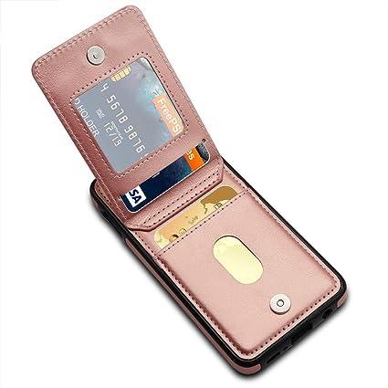 Amazon.com: LakiBeibi Funda tipo cartera para Galaxy S10e ...