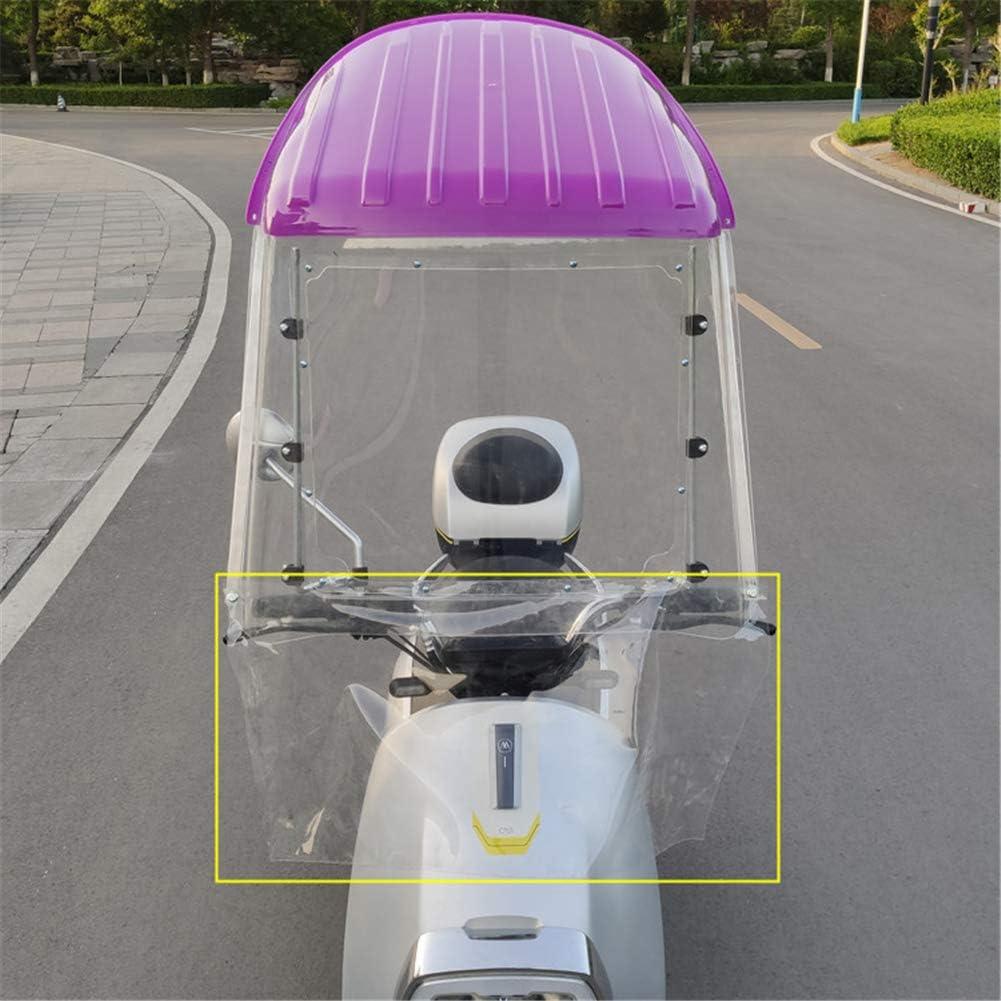Techo Universal para Motocicleta XIONGGG Toldo El/éctrico para Motocicleta Parabrisas Parasol Parasol para Bicicleta Cubierta para Lluvia