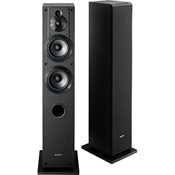 sony tower speakers. sony sscs3 3-way floor-standing speaker (single) tower speakers amazon.com