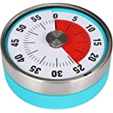 60 Minute Round Visual Analog Timer Countdown Clock for Kitchen Classroom Meeting Kids Adults