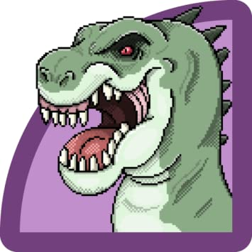 Amazon Com Dinosaur Color By Number Pixel Art Dinosaur