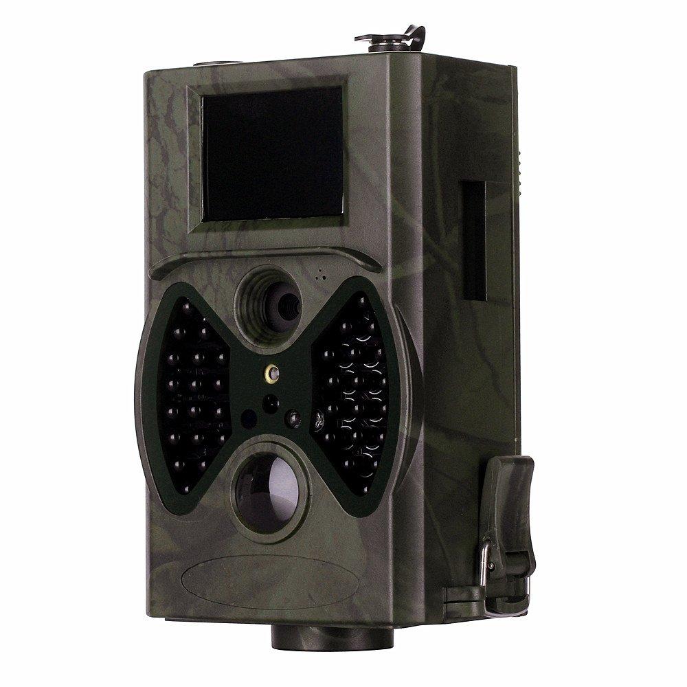 'clarer Wild Appareil photo/Observation des animaux/jour & nuit Surveillance/Classe de protection IP54/veille jusqu'à 6mois/2écran LCD/Lecteur Carte SD jusqu'à 32Go/Connexions: TV Out, fente pour carte TF USB/6