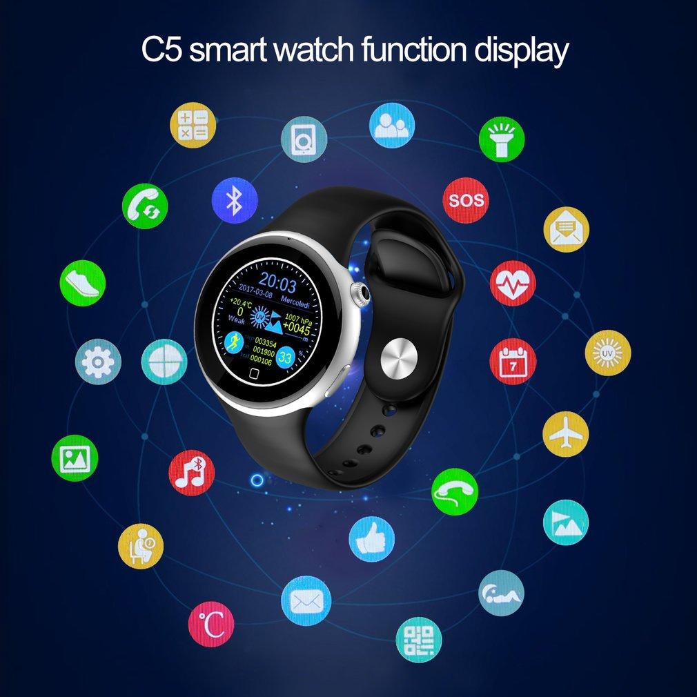 Smartwatch, leshp inteligente salud muñeca resistente al agua ...