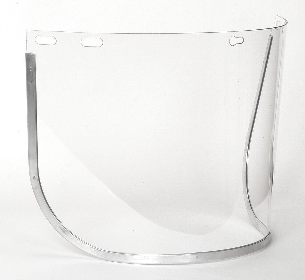 Polycarb Clr Faceshield Visor 8x15-1//2in